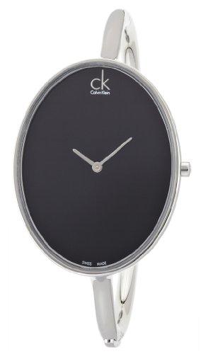 Calvin Klein Damen-Armbanduhr Analog Quarz Edelstahl K3D2M111