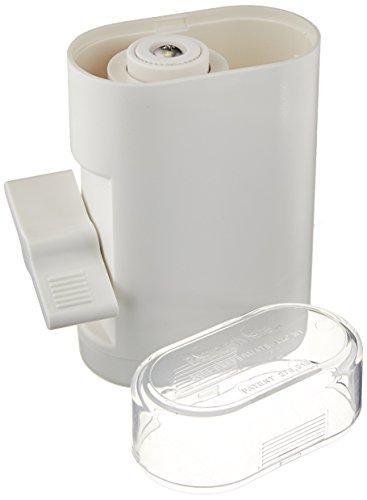 Peppermate traditionnel Moulin à poivre 723 – Clé en main Volume élevé de moulin sel et poivre Gourmet (Blanc)