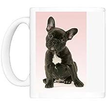 Photo Mug of DOG - French Bulldog Puppy by Prints Prints Prints