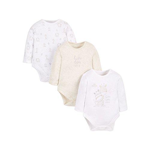 mothercare-baby-unisex-3pk-bodysuit-bodysuit-white-newborn-upto-1-month-manufacturer-size-56
