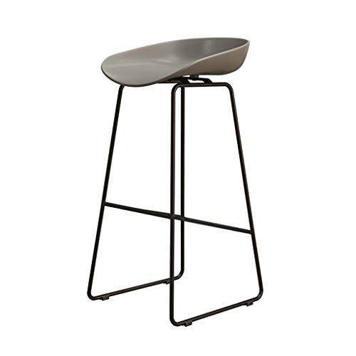 Eisen Barhocker Industrial Style für Küche und Restaurant Barhocker Sitzhöhe 75 cm / 65 cm / 45 cm Grau - Barhocker Eisen