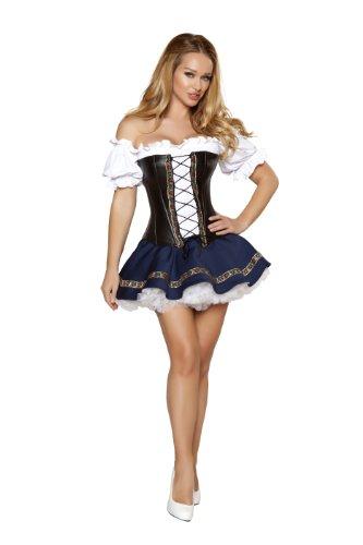 Renaissance Maiden Für Erwachsene Kostüm - Bier Maiden Baby Kostüm von