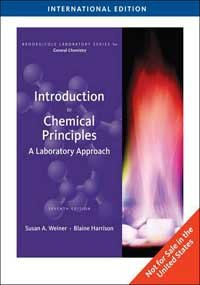 INTRODUCTION TO CHEMICAL PRINCIPLES: A LABORATORY APPROACH, 7TH EDITION [INTERNATIONAL EDITION]