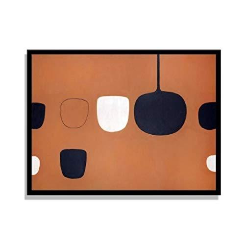 Bodegón abstracto minimalista nórdico póster impresión lienzo pinturas pared arte cuadros sala cocina...