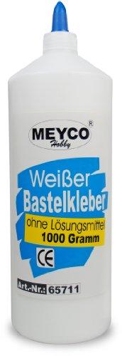 Bastelkleber 1000g, Meyco (Finger Paint Ideen)
