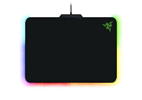 (Razer Firefly Cloth Edition Gaming Mouse Mat (mit RGB Chroma Beleuchtung, Mauspad mit Stoffoberfläche für professionelle Gamer))