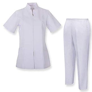 MISEMIYA – Casaca Y PANTALÓN Mujer Uniforme Laboral CLINICA Hospital Limpieza Veterinaria SANIDAD HOSTERERÍA- Ref.8298