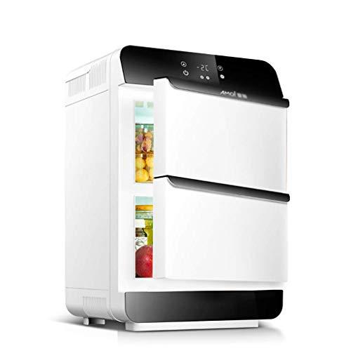 Unbekannt ADKINC 28L Auto Kühlschrank mit LED-Anzeige, 2,2 cu ft. Einheit kleine Gefriertruhe Kühler Kühlschrank (Gold)