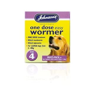 johnsons vet one dose easy wormer size 4 8 x 500mg tablets (200757) Johnsons Vet One Dose Easy Wormer Size 4 8 x 500mg Tablets (200757) 31YMfpwGQVL