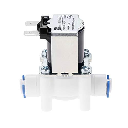 Válvula agua eléctrica AC 24 V DC válvula
