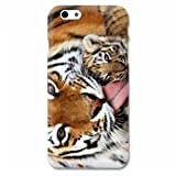 Coque Iphone 6 plus / 6s plus felins - - bebe tigre B -