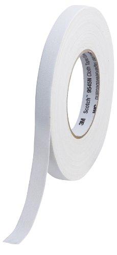 Scotch 9545N W15 Gewebeband , 1 Rolle, 15 mm x 50 m, weiß