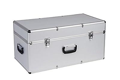 Hochwertige Transportkoffer aus Aluminium und ABS - schlagfest & ölbeständig - in verschiedenen Größen, Variante: Groß