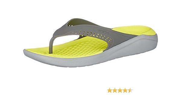 c53a12d24eab crocs Unisex s LiteRide Flip Flops Thong Sandals  Buy Online at Low ...