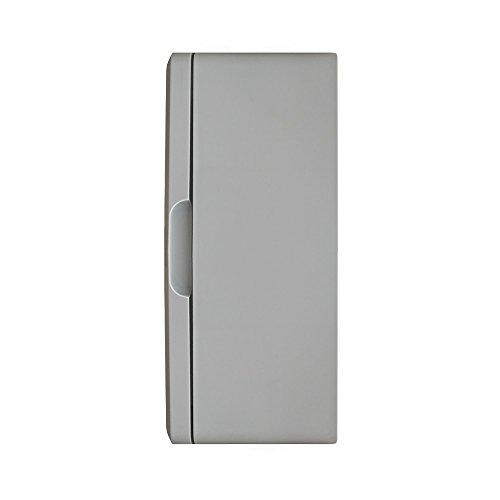 Schaltschrank 30 x 40 x 22 cm verzinkt Montageplatte ABS Kunststoff IP65 300 x 400 x 220 mm - 3