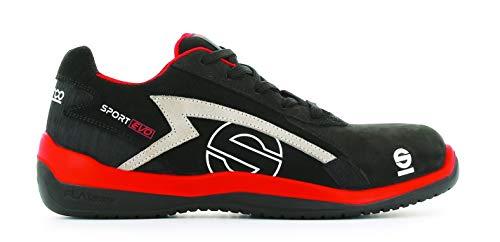 Sparco S0751639RSNR Zapatillas Sport EVO Negro Talla