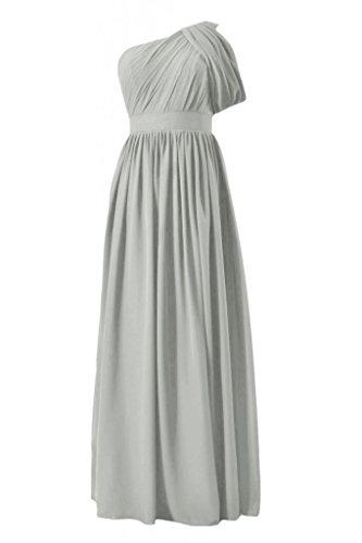 daisyformals Vintage longue robe de demoiselle d'honneur robe de demoiselle d'honneur W/sangle (bm281l) Gris - #55-Gray