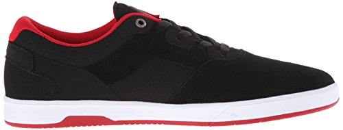 Emerica Westgate Cc, Herren Skateboardschuhe Black/Red