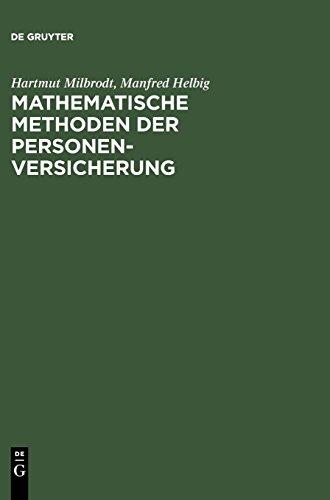 Mathematische Methoden der Personenversicherung