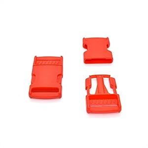 31YNE3isXjL. SS300  - 25mm 1 inch Plastic Side Release Buckles Clips for Webbing Strap