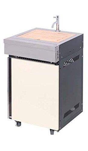 Waschbecken Spülbecken seitlich Edelstahl für Grill BBQ Luxury Van A GAS BBQ Grill
