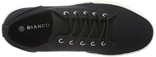 BIANCO Flatform Sneaker Jja16, Scarpe da ginnastica Donna Nero (Schwarz (10/Black))