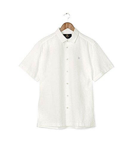Lyle & Scott -  Camicia da cerimonia  - Uomo Cotton Linen - White