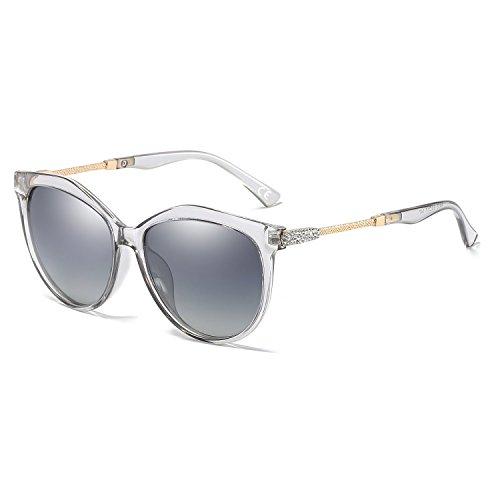 b5d6a1bfe0b85 VeBrellen Oversized Moda Gafas De Sol Polarizadas para Mujeres UV400 Protect