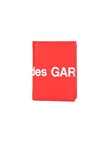 Comme des Garçons Herren Sa0641hl2 Rot Leder Brieftaschen -