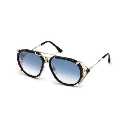 Roberto Cavalli Brillengestelle (Roberto Cavalli Unisex-Erwachsene RC1046 32W 57 Brillengestelle, Gold (ORO\\Blu Grand), 57.0)