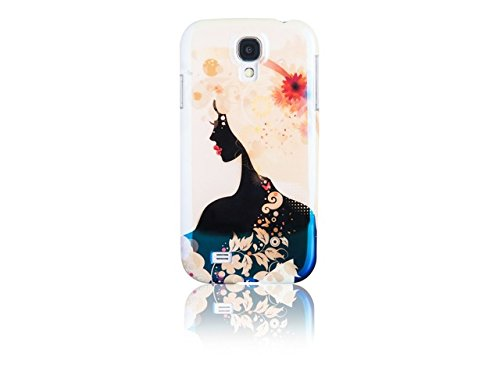 Spada 007977 Smartphone Schutzhülle Back Case - IMD - Samsung Galaxy S4 - Weiß - Shining Girl