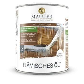 Mauler FLÄMISCHES ÖL mit UV-Absorbern farblos 5L
