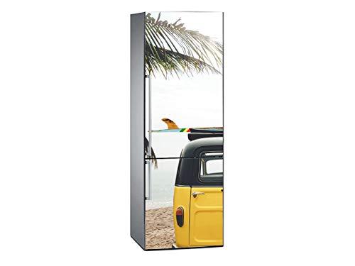 Oedim Vinilo Frigorífico Furgoneta Playa Tropical