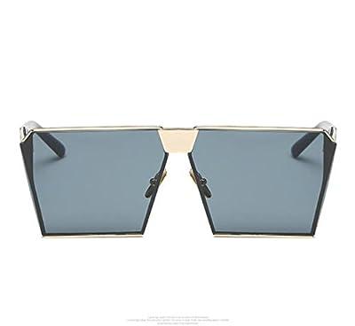 MYLL Neue Koreanische Version Platz Europäische Und Amerikanische Frauen-Sonnenbrille 2017 Stern Personality Männer Und Frauen Mit Der Gleichen Brille Sonnenbrille