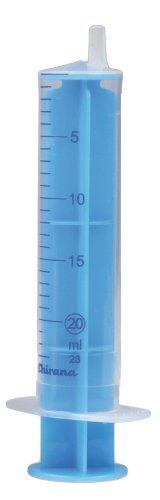 Einmalspritzen 20 ml Einmalspritze Spritzen 50 Stück blauer Kolben Einwegspritzen Spritze steril