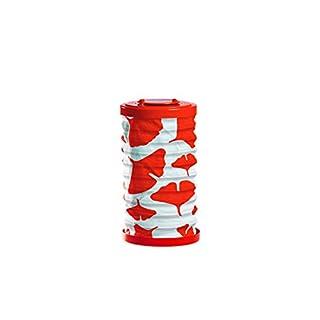 Allsop Home & Garden Soji Canvas Cylinder Solar Lantern 6