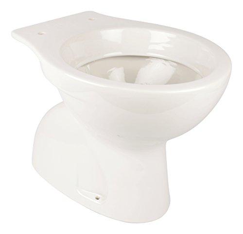 Stand-WC | Tiefspüler | Abgang innen senkrecht, Weiß, Keramik