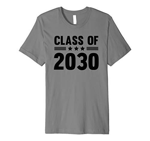 f58e7fcaa2a424 Class of 2030 Grow With Me T-Shirt First Day of School Shirt