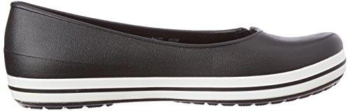Crocs - Chaussures Plates Noires Pour Femmes