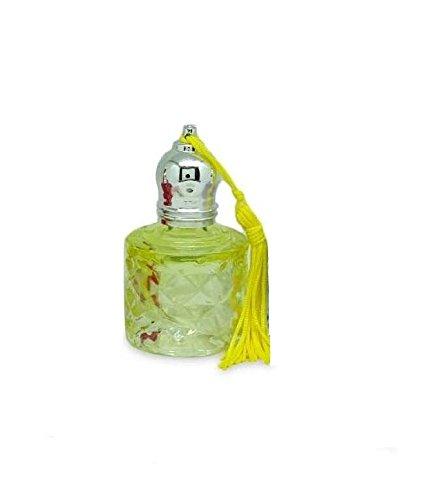 1 Paire Fantaisie Forme ronde vide Easy Glass Voyage Roll-on bouteilles pour les huiles essentielles 6 ml