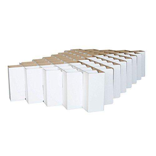 ROOM IN A BOX | Bett 2.0 S/W: Nachhaltiges Klappbett aus Wellpappe in der Größe 90 x 200 cm und alle Zwischengrößen. Ideal auch als praktisches Gästebett, da leicht verstaubar und ein Lattenrost nicht benötigt wird.