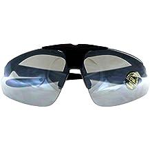 Occhiali protettivi da tiro, kit Milcraft TM Occhiali da sole infrangibili e ad alta resistenza in policarbonato UV400 con lenti intercambiabili, prescrizione (RX) vettore testati sul campo di battaglia.