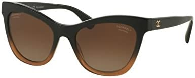 Chanel CH5350 BLACK GRADIENT BROWN (1556S9) - Gafas de sol