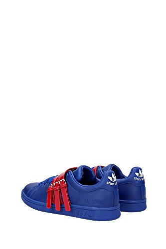 AQ2723RAFSIMONSSTANSMITH Adidas Sneakers Herren Leder Blau Blau
