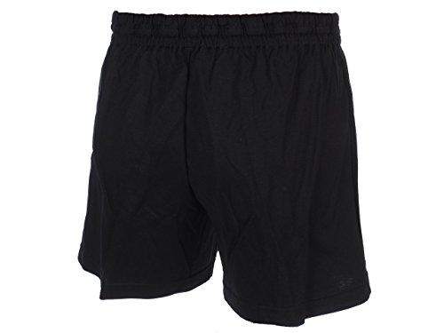 Panzeri Unito ha nero shor-Pantaloncini in jersey, girocollo - nero