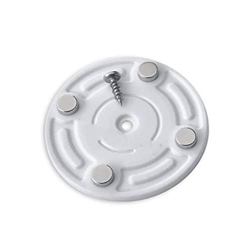 Aufbewahrungshaken, für Kühlschrank/Schrank, Haken in Dosenform, magnetische Werkzeuge, um Platz zu sparen, Haushaltswerkzeuge Free Size Round