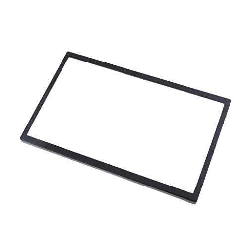 non-brand Sharplace (Schwarz) Autostereo Kunststoff Rahmen für VW Polo, Kunststoff Panel -