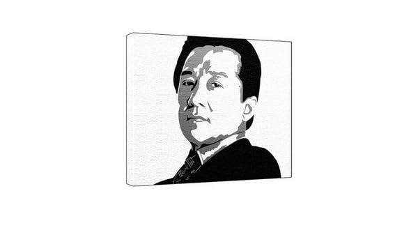 Jackie Chan Art Painting
