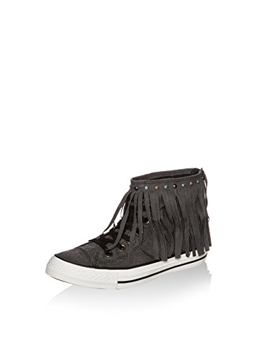 Converse All Star Fringe Hi W chaussures Gris