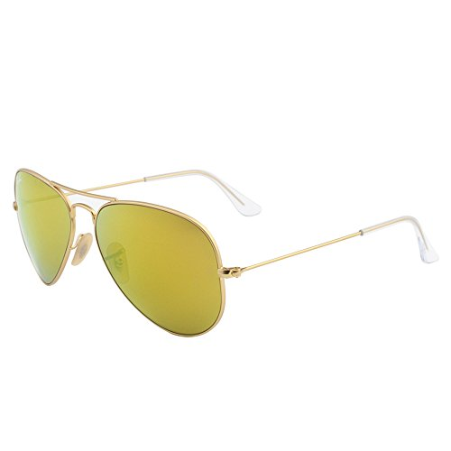 Ray-Ban Unisex Aviator Sonnenbrille Mod. 3025Jm - 0One Size/X3, Gr. 58Mm, Gold (112/93), 58 mm
